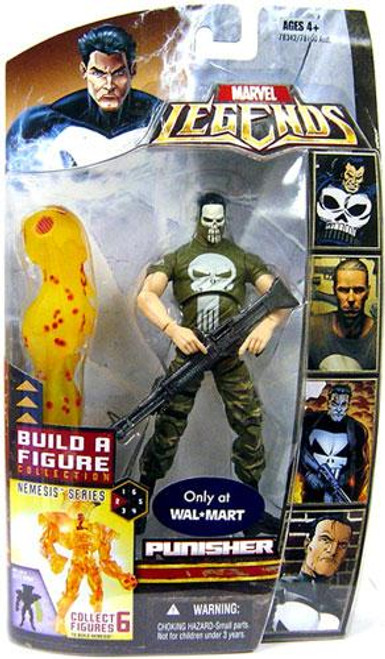 Marvel Legends Nemesis Build a Figure Punisher Exclusive Action Figure [Vietnam Painted Face Variant]