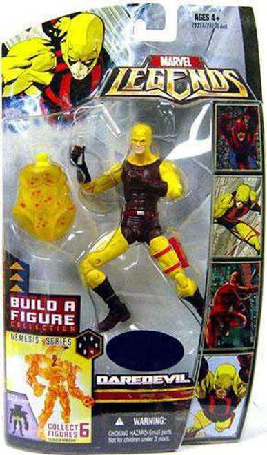 Marvel Legends Nemesis Build a Figure Daredevil Exclusive Action Figure [Yellow & Brown Suit]