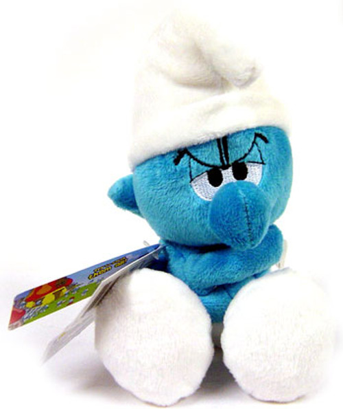 The Smurfs Grouchy Smurf 6-Inch Plush