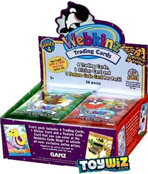 Webkinz Trading Cards Series 4 Booster Box