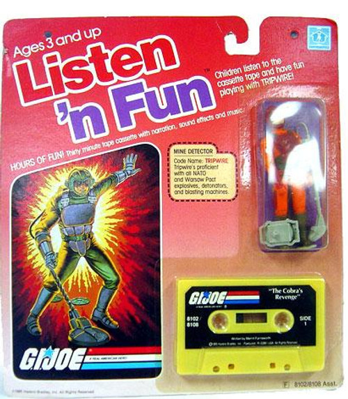 GI Joe Listen 'n Fun Tripwire Action Figure
