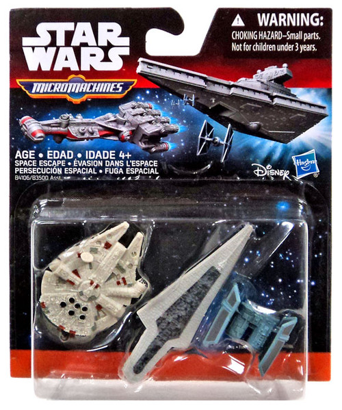 Star Wars The Force Awakens Micro Machines Space Escape