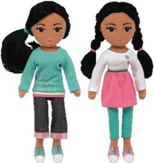 Girlz Sweet Sydney & Marvelous Mariah Plush Dolls