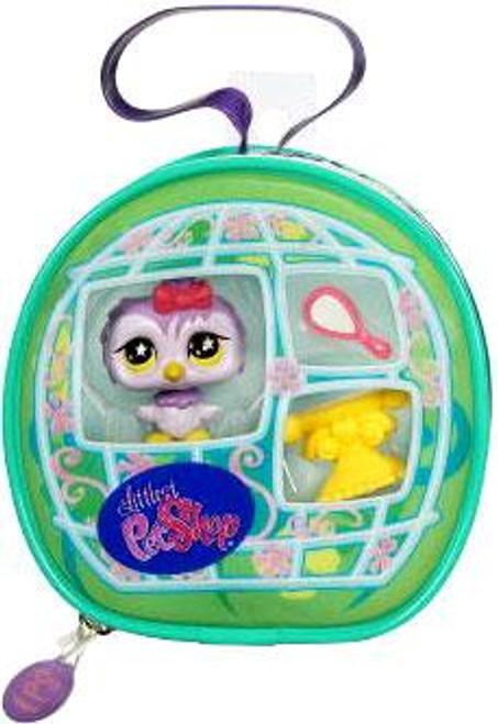 Littlest Pet Shop Owl Purse Carry Case