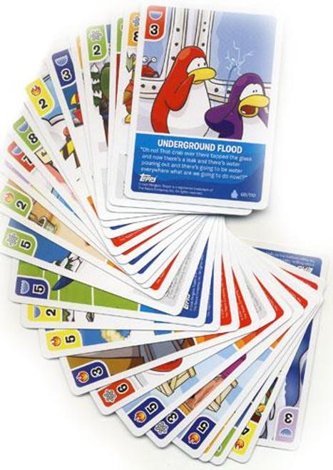 Card-Jitsu Basic Series 1 Club Penguin Lot of 26 Cards