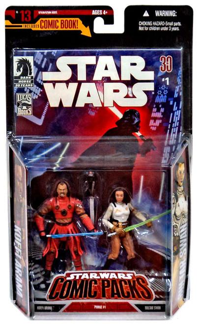 Star Wars Expanded Universe Comic Packs 2007 Bultar Swan & Koffi Arana Action Figure 2-Pack