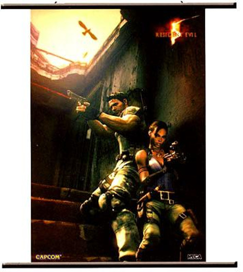 NECA Resident Evil 5 Wall Scroll [Up Against the Wall]