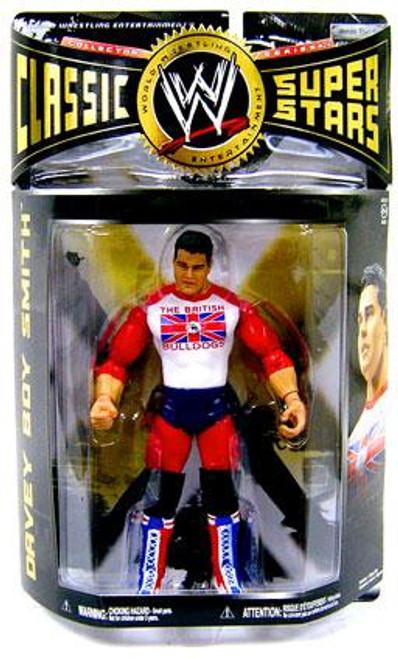 WWE Wrestling Classic Superstars Series 24 Davey Boy Smith Action Figure [British Bulldogs]