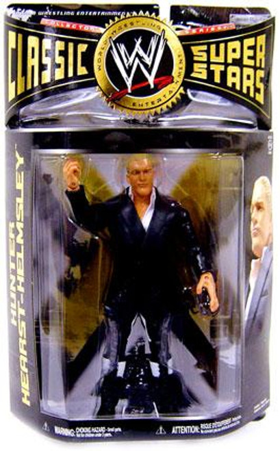 WWE Wrestling Classic Superstars Series 24 Hunter Hearst Helmsley Action Figure