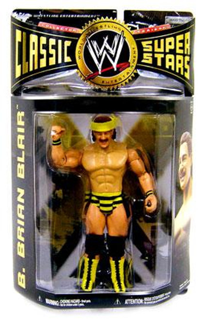 WWE Wrestling Classic Superstars Series 24 B. Brian Blair Action Figure