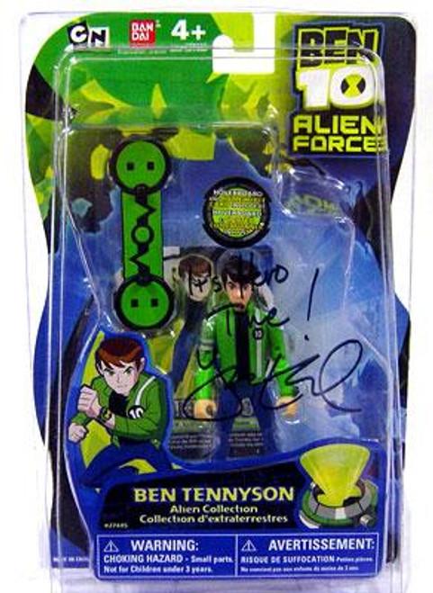 Ben 10 Alien Force Alien Collection Ben Tennyson Action Figure [Autographed by Yuri Lowenthal]