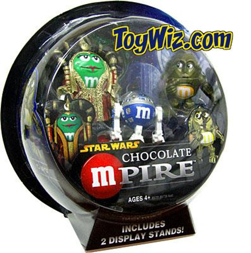 Star Wars M&Ms Chocolate Mpire Amidala & C-3PO w/ R2-D2 Action Figure 2-Pack