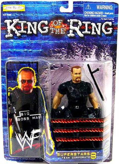WWE Wrestling WWF King of the Ring Superstars Big Boss Man Action Figure