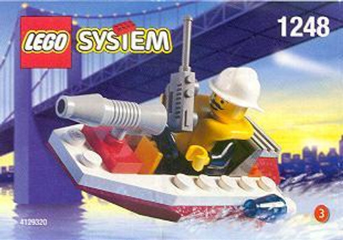LEGO System Fire Boat Set #1248