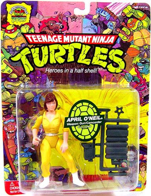 Teenage Mutant Ninja Turtles 1987 25th Anniversary April O'Neil Action Figure