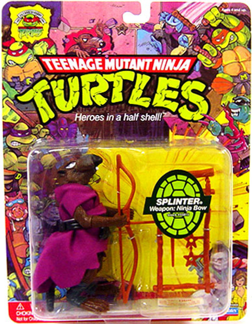 Teenage Mutant Ninja Turtles 1987 25th Anniversary Splinter Action Figure