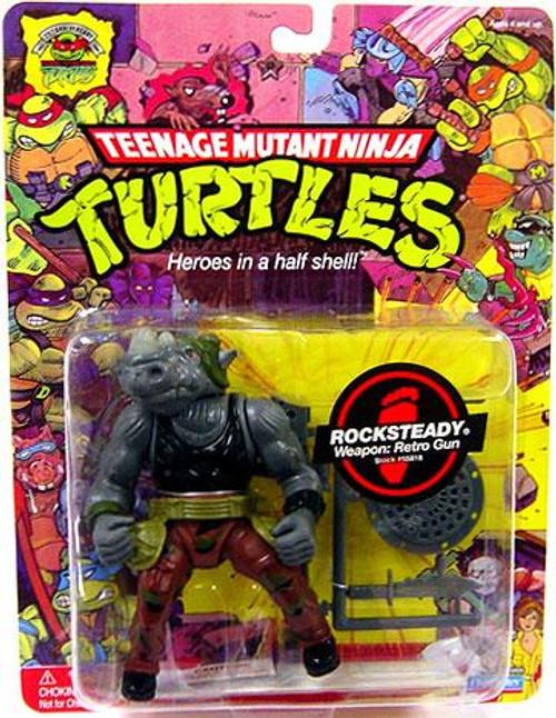 Teenage Mutant Ninja Turtles 1987 25th Anniversary Rocksteady Action Figure