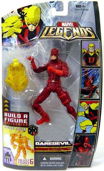 Marvel Legends Nemesis Build a Figure Daredevil Exclusive Action Figure [Red Suit Variant]
