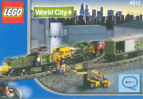 LEGO World City Cargo Train Set #4512