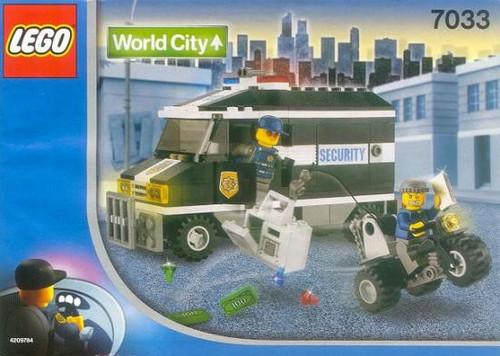 LEGO World City Armored Car Set #7033