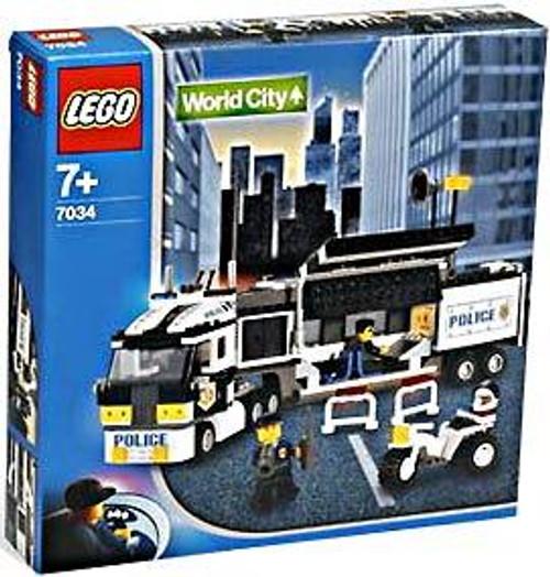 LEGO World City Surveillance Truck Set #7034