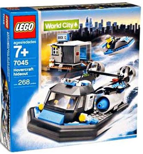LEGO World City Hovercraft Hideout Set #7045