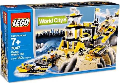 LEGO World City Coast Watch HQ Set #7047