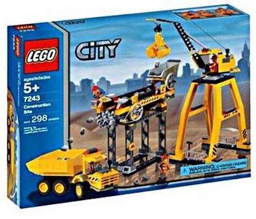 LEGO City Construction Site Set #7243