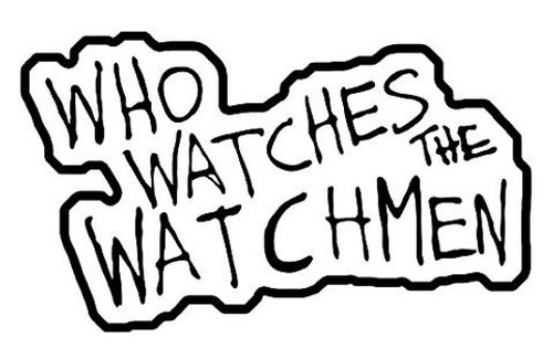 "NECA ""Who Watches the Watchmen"" Patch"