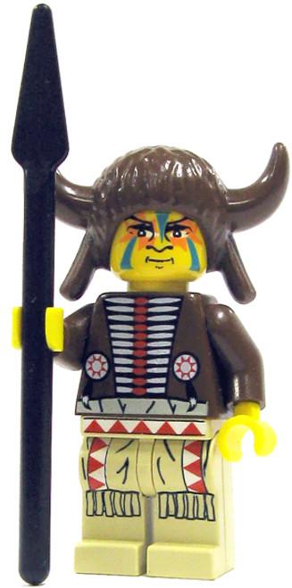 LEGO Loose Indian Medicine Man Minifigure [Loose]