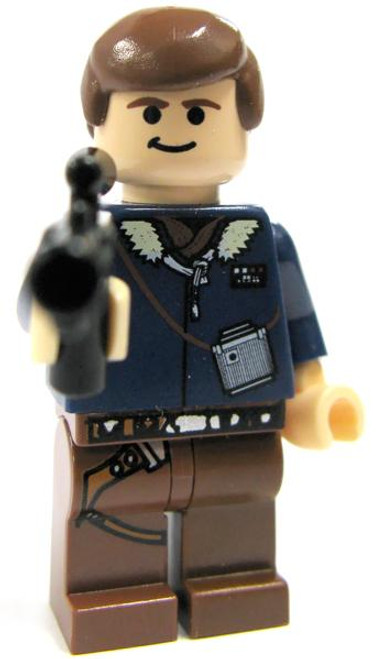 LEGO Star Wars Loose Han Solo Minifigure [Hoth Gear Loose]