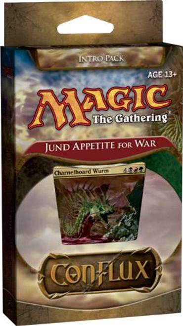 MtG Conflux Jund Appetite for War Intro Pack [Sealed Deck]