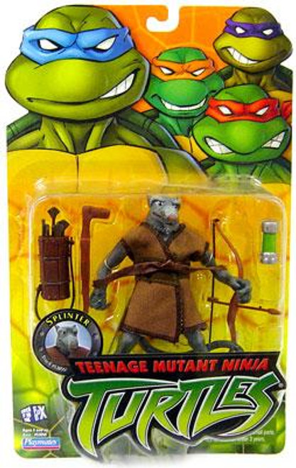 Teenage Mutant Ninja Turtles 2003 Splinter Action Figure
