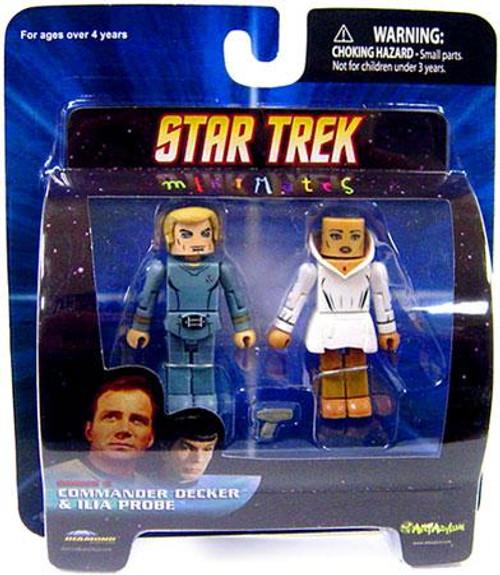Star Trek The Motion Picture MiniMates Series 5 Commander Decker & Ilia Probe Minifigure 2-Pack