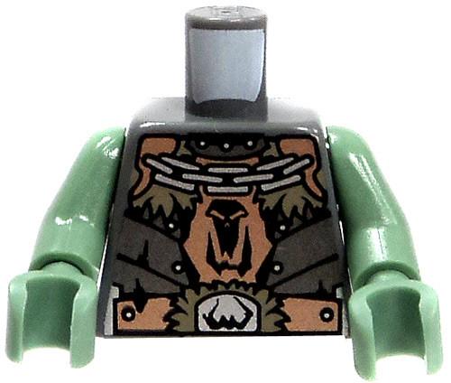 LEGO Castle Minifigure Parts Troll Badge & Chains Loose Torso #4519739 [Loose]