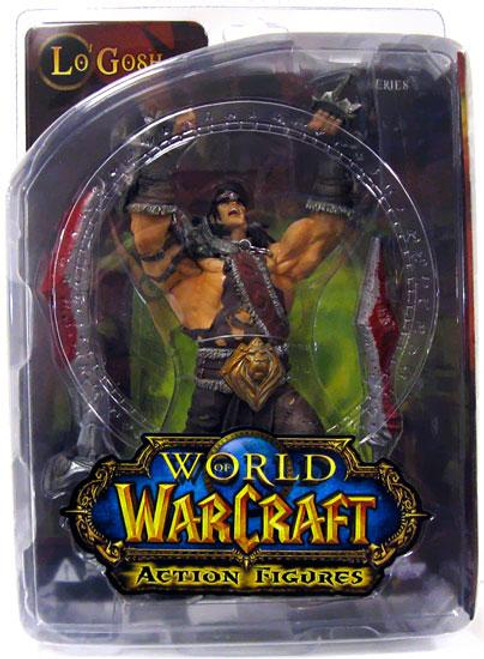 World of Warcraft Series 5 Lo'Gosh Action Figure [Varian Wrynn]