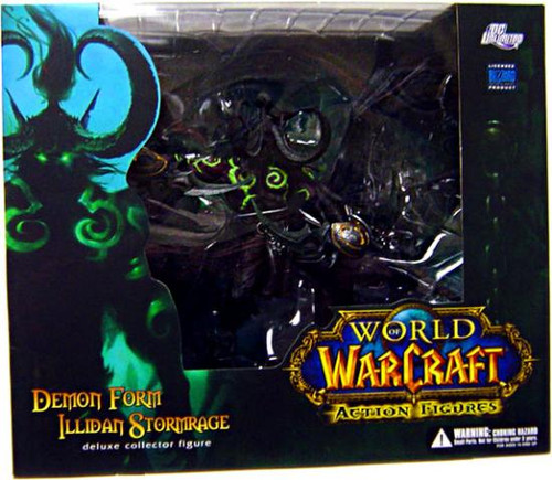 World of Warcraft Series 5 Demon Form Illidan Stormrage Action Figure