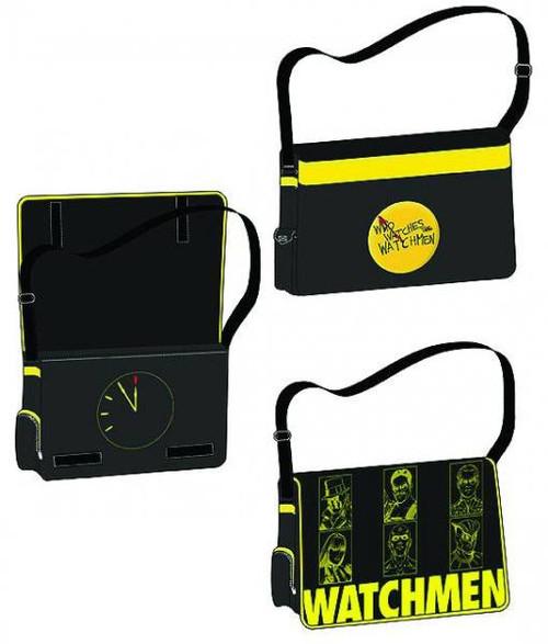 "NECA Watchmen ""Who Watches the Watchemen"" Messenger Bag"