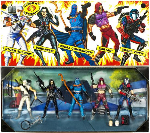 GI Joe Cobra Collector 5-Pack Action Figure Set