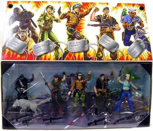 GI Joe Collector 5-Pack Action Figure Set