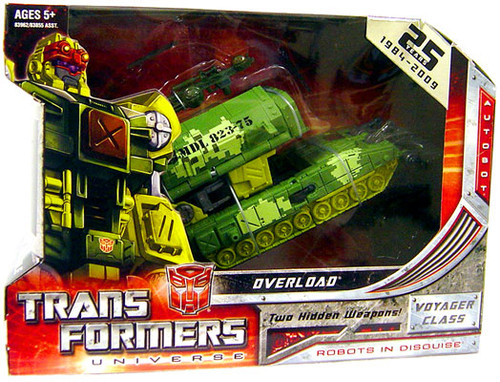 Transformers Universe Voyager Overload Voyager Action Figure