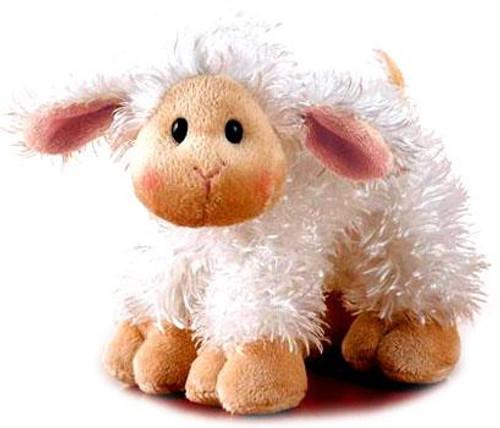 Webkinz Lil' Kinz Lamb Plush