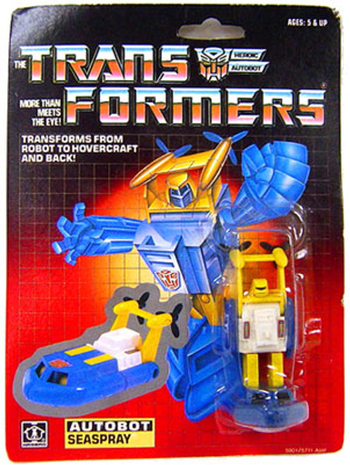 Transformers Generation 1 Vintage Seaspray Action Figure