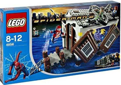 LEGO Spider-Man 2 Doc Ock's Hideout Set #4856