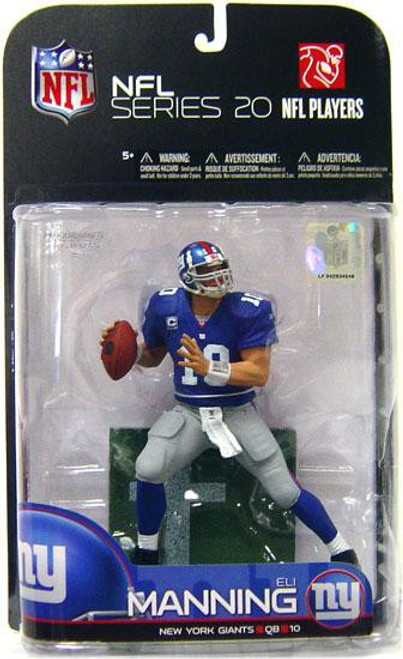 McFarlane Toys NFL New York Giants Sports Picks Series 20 Eli Manning Action Figure [Blue Jersey]