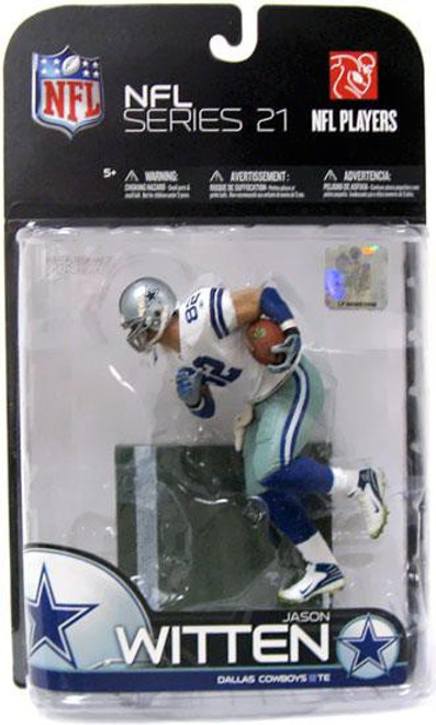 McFarlane Toys NFL Dallas Cowboys Sports Picks Series 21 Jason Witten Action Figure