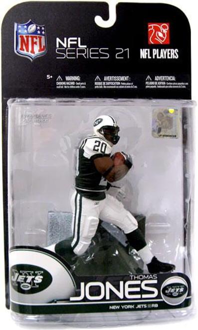 McFarlane Toys NFL New York Jets Sports Picks Series 21 Thomas Jones Action Figure