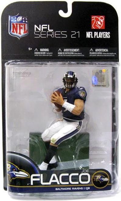 McFarlane Toys NFL Baltimore Ravens Sports Picks Series 21 Joe Flacco Action Figure