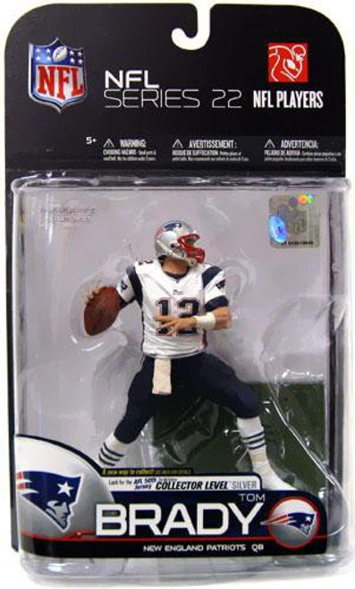 McFarlane Toys NFL New England Patriots Sports Picks Series 22 Tom Brady Action Figure