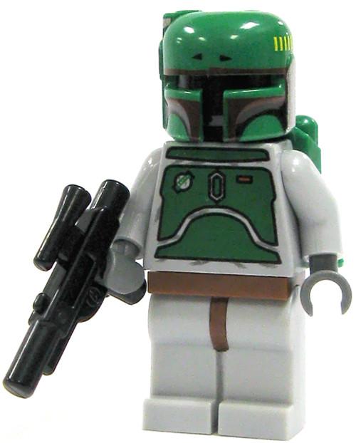 LEGO Star Wars Loose Boba Fett Minifigure [Gray Loose]